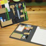 【MagEasy レビュー】デスク上の小物を一括収納!!カスタマイズ可能な手帳&スタンド【見える収納】