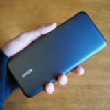 【Anker PowerCore+ 19000 PD レビュー】MacBookを充電できUSBハブとしても活用できる大容量モバイルバッテリー【USB-C充電器付き】