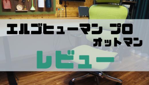 【最強オフィスチェア】エルゴヒューマン プロ オットマンをレビュー。デスクワーカーに超絶おすすめしたい至高の椅子。
