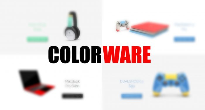 【COLORWARE】スキンシールのカラーリングが豊富すぎ!!MacBookやNintendo Switchを自由にカスタマイズできるぞ!!