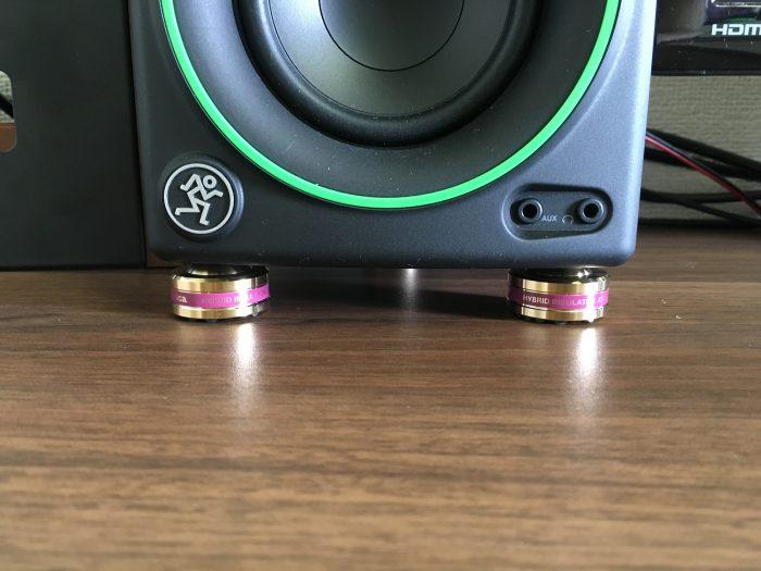 【レビュー】『audio-technica ハイブリッドインシュレーター』で重低音対策&音質向上をサポート!!