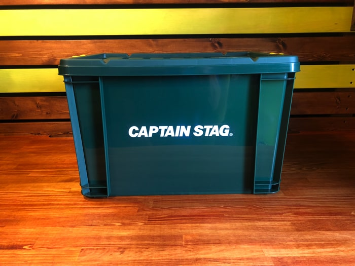 【DIY工具収納】キャプテンスタッグのコンテナボックスで工具を一括収納!!