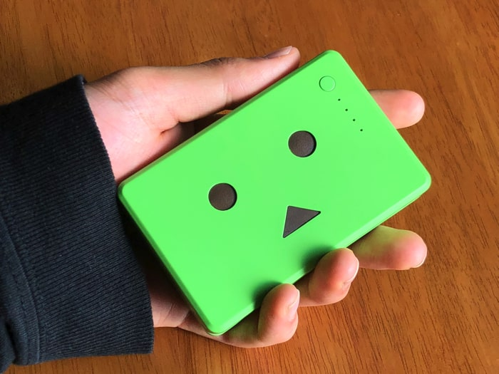 【レビュー】『cheeroモバイルバッテリー(ヨツバ)』が小さくてかわいい!女性にもオススメだぞ!!