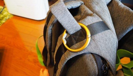 【レビュー】荷物の置き場に困らないバッグハンガー『Clipa 2』。どこにでも掛けられる便利アイテムだぞ!!